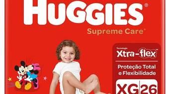Huggies tem fraldas mais vendidas da loja virtual da Amazon