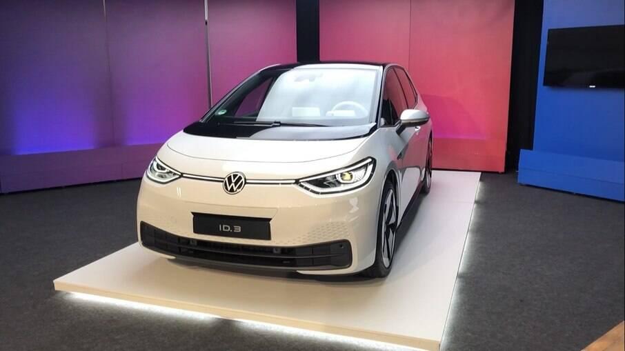 VW ID.3, o hatchback elétrico que poderá  brigar com Nissan Leaf e Chevrolet Bolt entre os principais rivais