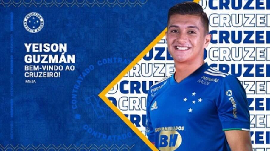 Yeison Guzmán desiste de jogar no Cruzeiro, diz imprensa colombiana