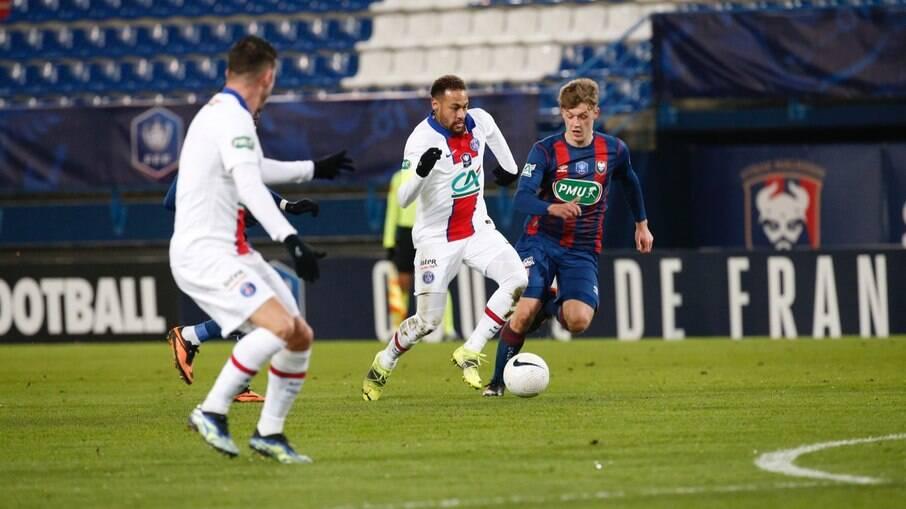 PSG vence Caen por 1 a 0