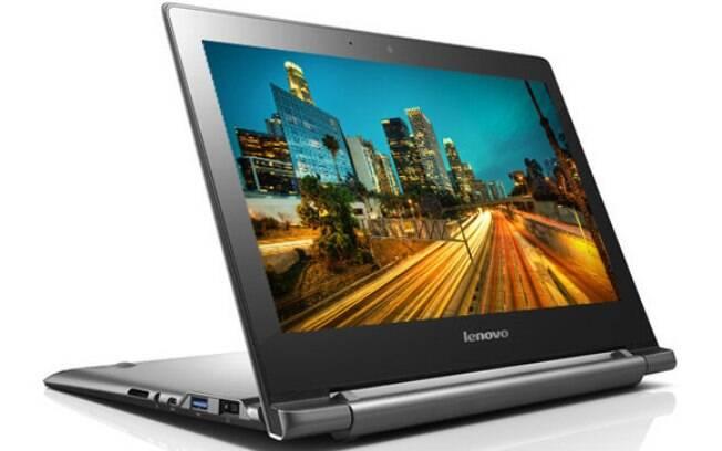 Lenovo Chromebook N20p tem tela sensível ao toque e teclado que gira 300 graus
