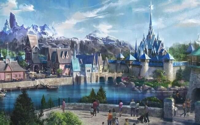 A área de Frozen será aberta na Disneyland Paris em 2023
