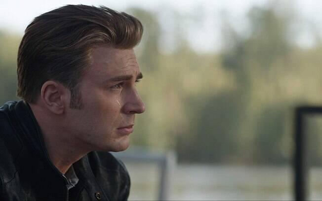 Chris Evans em cena de Vingadores: Ultimato