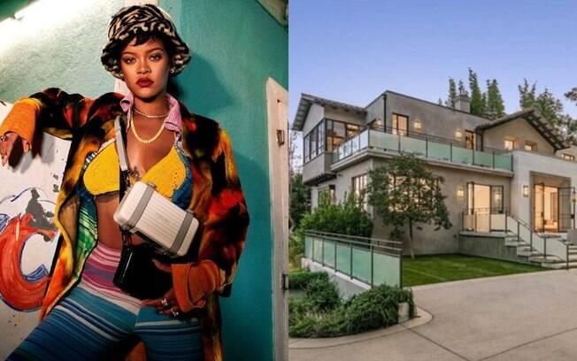 Uau! Rihanna coloca mansão à venda