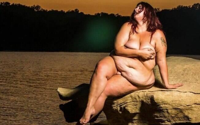 Jovem fez ensaio para mostrar como se sente com o corpo agora e como todos devem se sentir com os próprios corpos