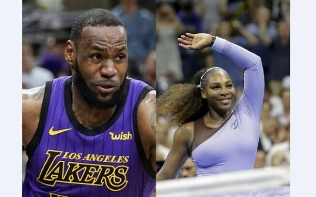 Agência norte-americana vota em LeBron e Serena como melhores atletas de 2018