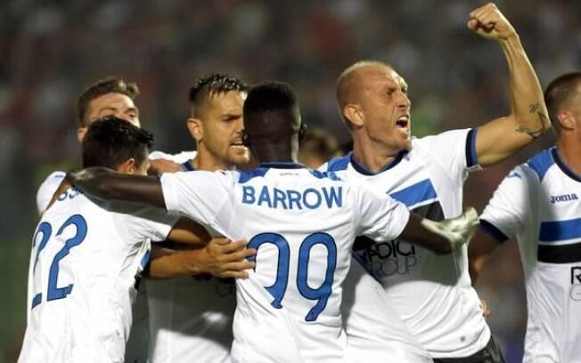 Atalanta faz 8 a 0 no Sarajevo e avança na Liga Europa (foto: EPA)