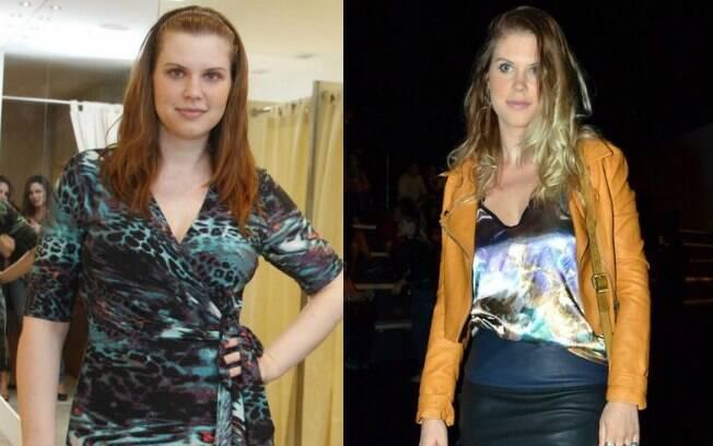 Carolinie Figueiredo, antes e depois: 30 quilos a menos