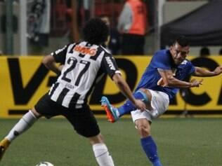 Samudio reclamou de jogar com torcida única e espera que no jogo da volta o efeito seja a favor do Cruzeiro