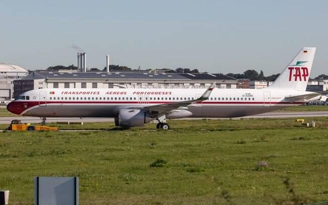 TAP recebe A321neo com pintura retrô