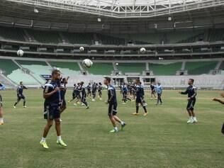 Marcelo Oliveira sentiu uma lesão na coxa esquerda durante treinamento e não enfrenta o Atlético-PR