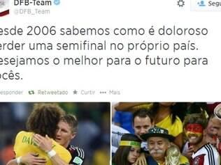 Alemães se solidarizam com tristeza brasileira e desejam melhoras