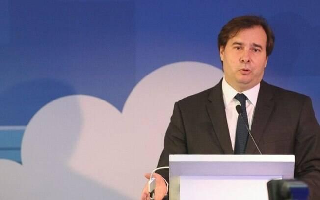 Rodrigo Maia teve a candidatura liberada após decisão do ministro Celso de Mello, do Supremo Tribunal Federal