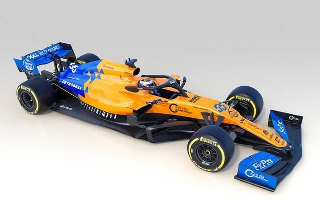 MCL34, o novo carro da McLaren para temporada 2019 da Fórmula 1