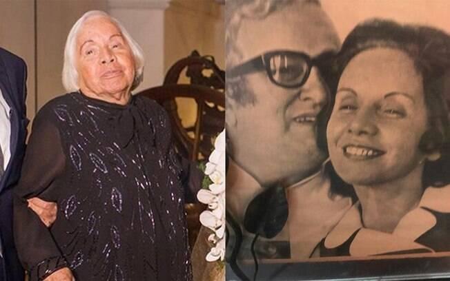 Leleco Barbosa postou homenagens à mãe nas redes sociais