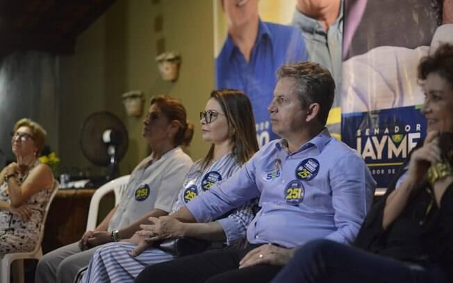 Candidato Mauro Mendes (DEM) liderou pesquisas de intenções de voto na eleição no Mato Grosso