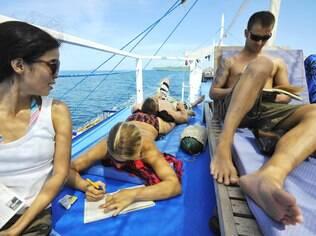 Em cinco dias de barcos, a descoberta de novos amigos perfeitos para a aventura