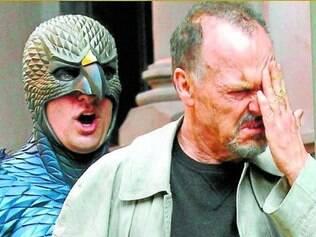 """Herói. """"Birdman"""" mostra um ator decadente às voltas com o herói que interpretou"""