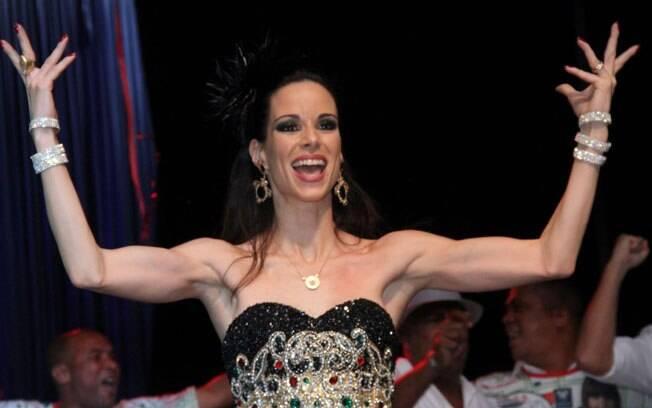 Ana Furtado mostrou os músculos: muita malhação para o carnaval