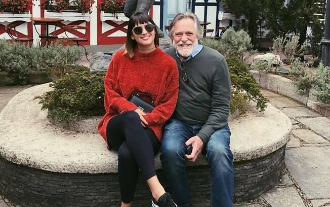 Carolynne Junger e José de Abreu