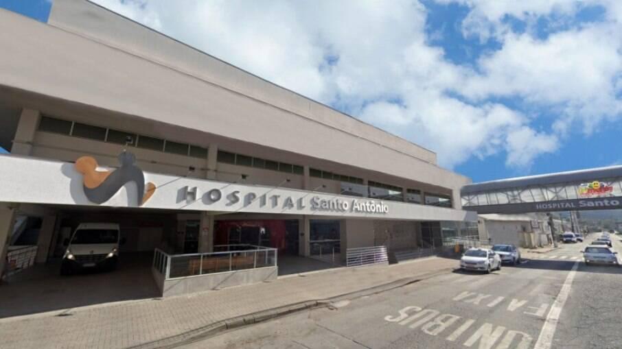 Hospital Santo Antônio, em Santa Catarina