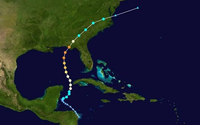 Furacão Michael atravessou quatro estados do sudeste dos Estados Unidos antes de perder força e voltar ao oceano Atlântico