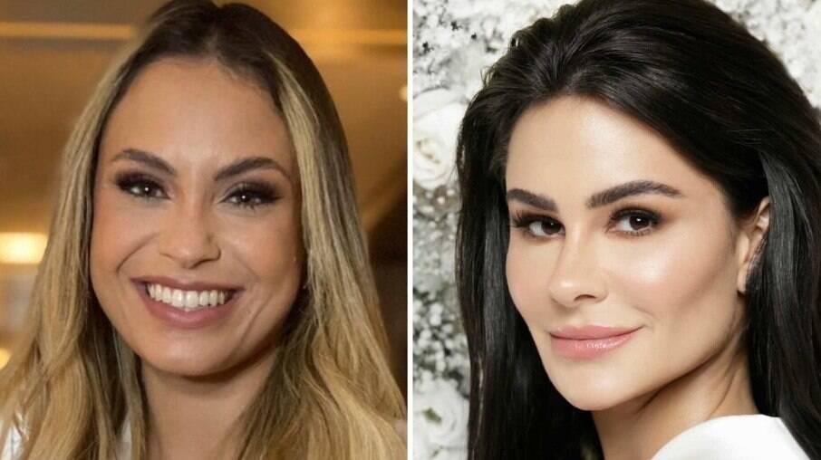 Sarah Andrade e Natalia Martins
