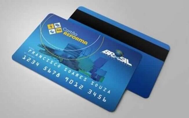 Cartão Reforma deve começar a ser distribuído aos beneficiários selecionados somente no segundo semestre