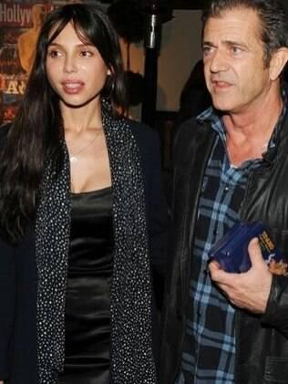 Mel Gibson e a ex, a russa Oksana Grigorieva