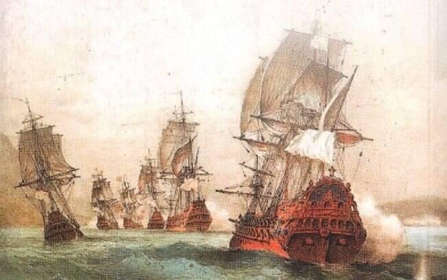A chegada dos piratas ao Rio de Janeiro