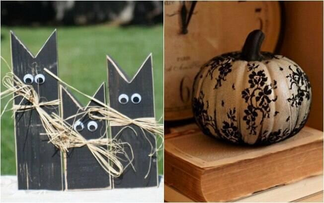 Enfeites de Halloween também podem deixar sua casa mais diveritda ou sofisticada