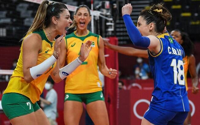 Sem sustos, Brasil supera a Coréia do Sul na estreia do vôlei feminino nas Olimpíadas