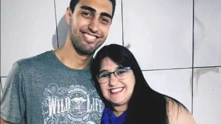 Bruno Eustáquio Vieira é o principal suspeito de assassinar sua mãe, Márcia Lanzane