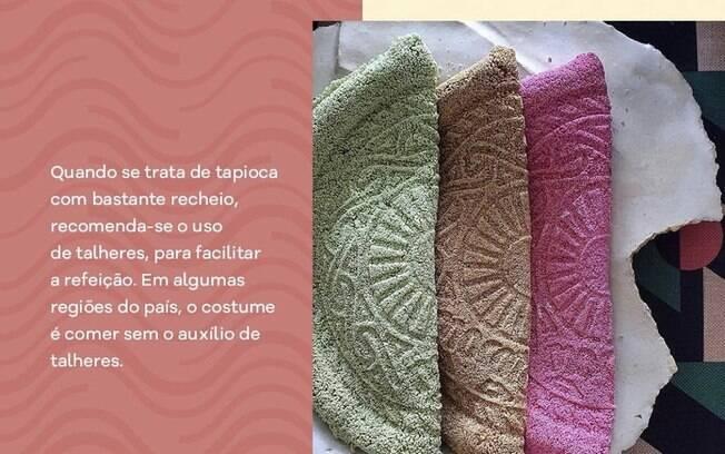 tapioca colorida