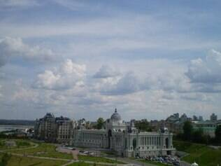Kazan. Cidade é uma das mais bonitas de todo o trajeto
