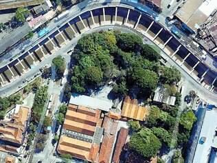 Aproveitamento. Parte do terreno da Santa Casa será usada para alargar as pistas e os passeios da avenida dos Andradas até a Contorno