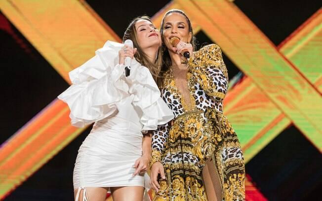 Ivete Sangalo e Claudia Leitte estão concorrendo a