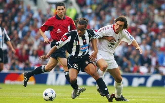 Em 2003, a decisão da Liga dos Campeões foi  italiana. Milan e Juventus chegaram à final