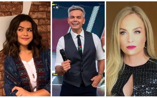 Maisa, Otaviano Costa e Angélica estão entre os nomes cotados para entrar na programação da TV em 2019