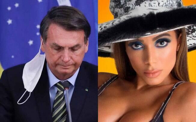 Jair Bolsonaro e Anitta