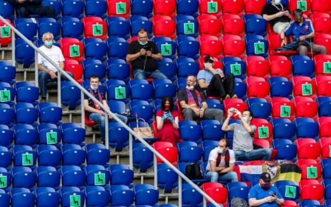 Clube perdeu por W.O na Rússia
