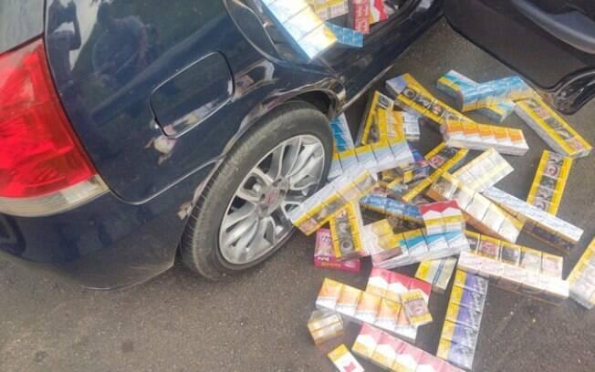 Polícia recupera carga de cigarro roubada em Campinas