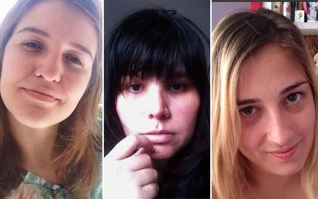 Carol, Nuta e Marie, as blogueiras do Girls With Style, propõem terças-feiras sem maquiagem, e convidam as leitoras a participar, tirar foto e publicar nas redes sociais
