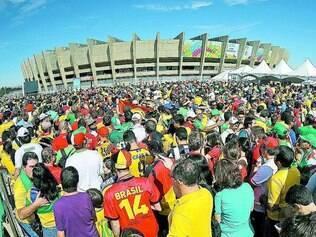 Logística. Exigências da Fifa modificam completamente a maneira de torcedores chegarem ao estádio para ver jogos