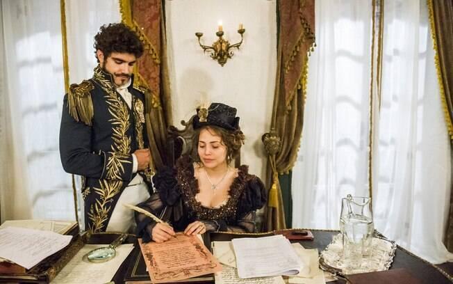 Dom Pedro e Leopoldina serão coroados Imperador e Imperatriz do Brasil e finalmente ficarão juntos