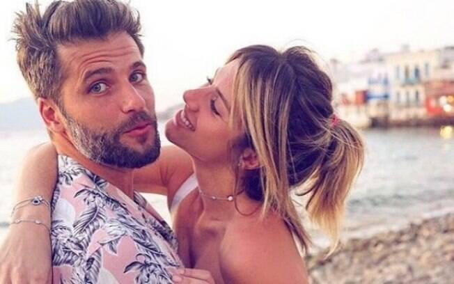 Giovanna Ewbank e o esposo Bruno Gagliasso