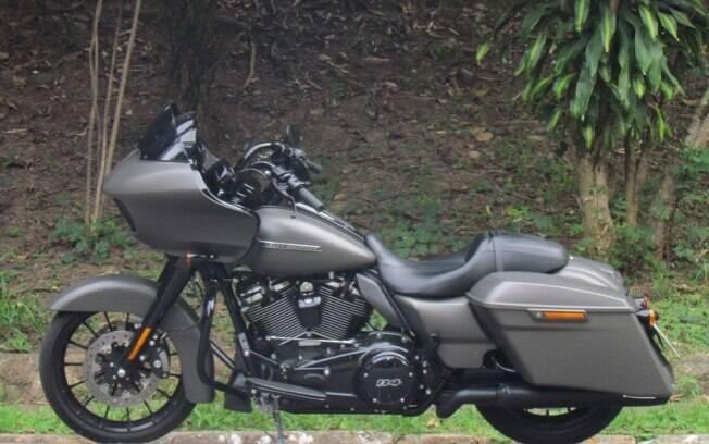 A Harley-Davidson Road Glide Special e seu estilo bagger entre os itens que mais chamam atenção