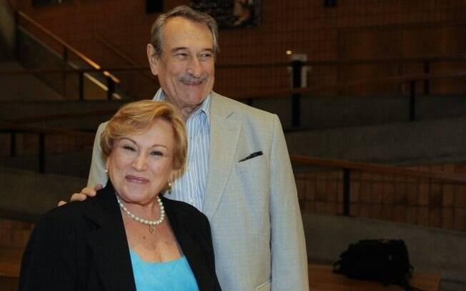 Nicette Bruno e Paulo Goulart prestigiam espetáculo