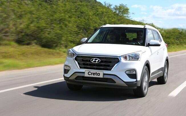 Hyundai Creta: mais silencioso que o rival, garantirá um trajeto mais tranquilo