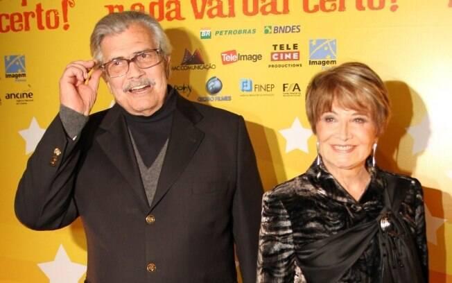 Tarcísio Meira e Glória Menezes: uma bela história que começou com a televisão brasileira
